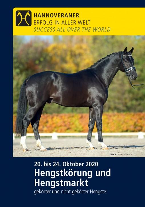 Wunsch-DVD - Hengst der Hannoveraner Körung 2020