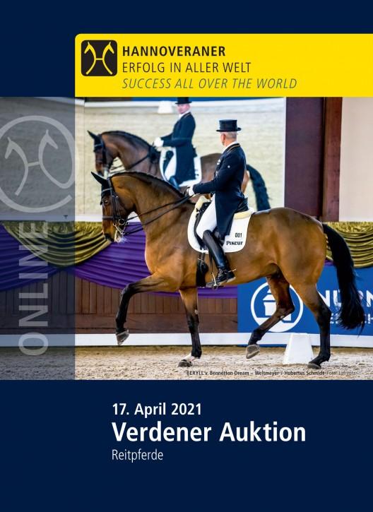 Wunsch-DVD - Verdener Auktion - April 2021 (Reitpferd)