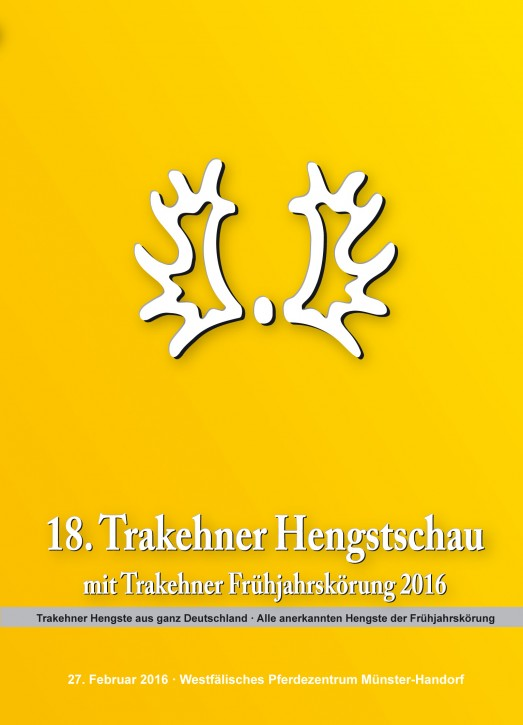 Trakehner Hengstschau und Frühjahrskörung 2016
