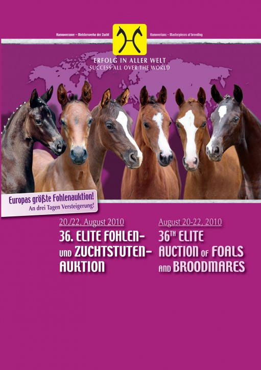Wunsch-DVD - 36. Elite Fohlen- und Zuchtstutenauktion (Fohlen)