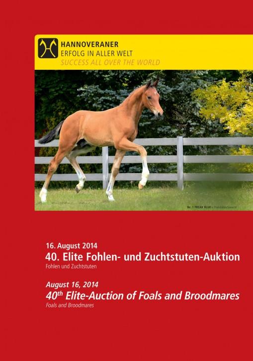 Wunsch-DVD - 40. Elite Fohlen- und Zuchtstuten-Auktion 2014