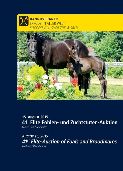 Wunsch-DVD - 41. Elite Fohlen- und Zuchtstuten-Auktion 2015