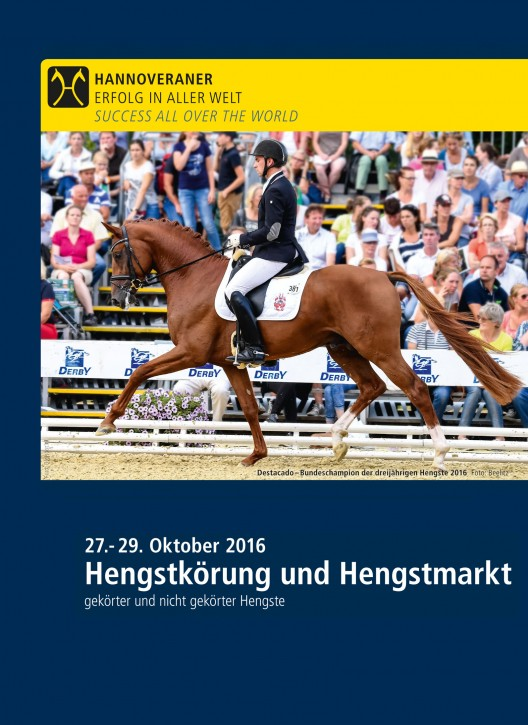 Wunsch-DVD - Prämienhengst der Hannoveraner Körung 2016