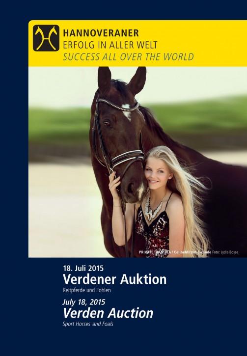 Wunsch-DVD - Verdener Auktion - Juli 2015 (Reitpferd, Sommer-Auktion)