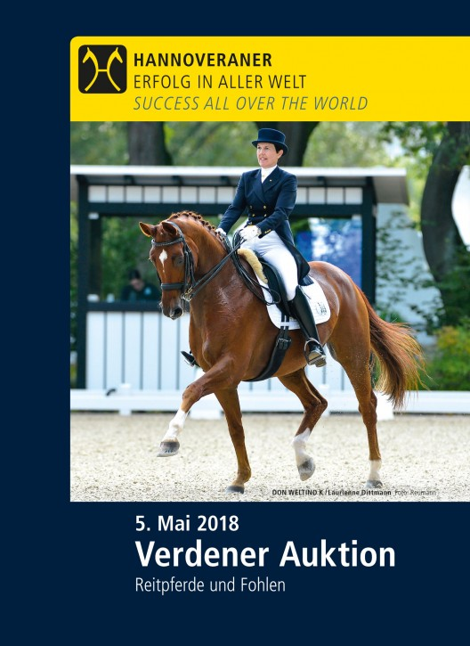 Wunsch-DVD - Verdener Auktion - Mai 2018 (Fohlen)