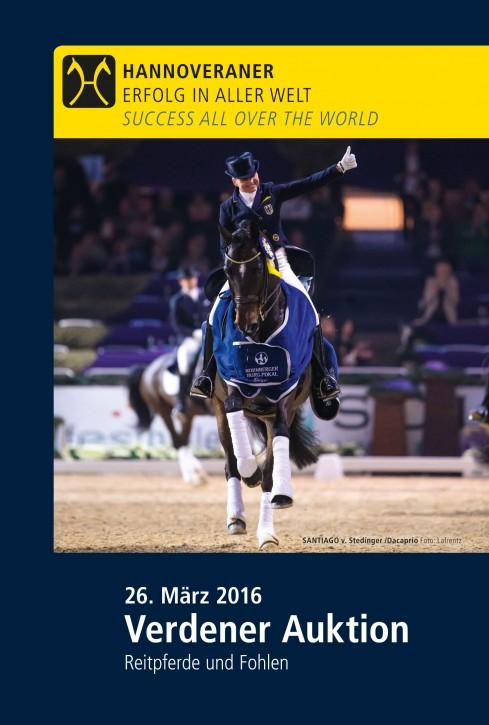 Wunsch-DVD - Verdener Auktion - März 2016 (Reitpferd)