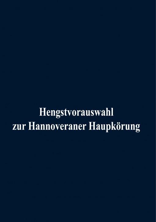 Hannoveraner Hengstvorauswahl 2020