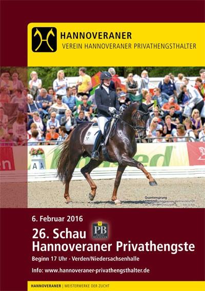 26. Hannoveraner Privathengstschau