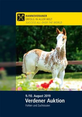 Wunsch-DVD - Verdener Auktion - August 2019 (45. Elite Fohlen- und Zuchtstuten-Auktion)